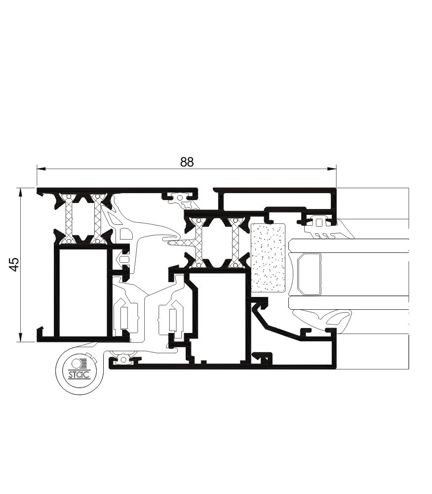 Detalle de la sección del sistema Cor 3000 RPT