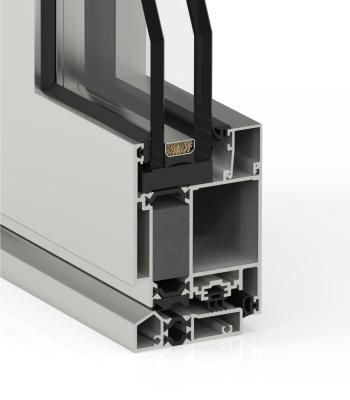Detalle del sistema Puerta Millennium Plus 70 RPT