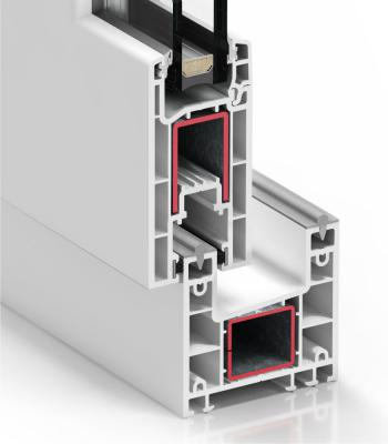Detalle del sistema C 70  Corredera - PVC