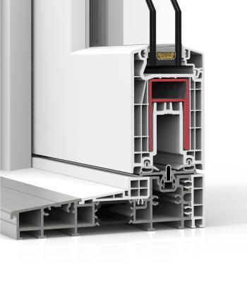 Detalle del sistema E 170 Corredera Elevable - PVC