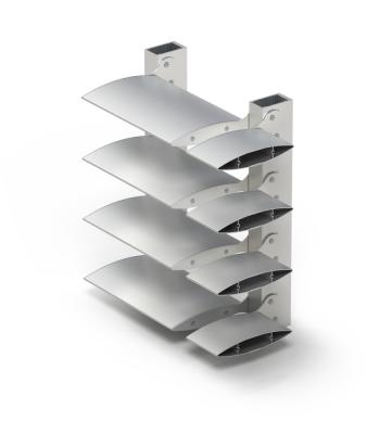System Solar protection: Louvres
